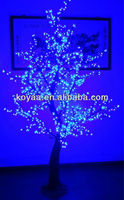 Artificial lighted trees Holiday led cherry tree light FZ-1152blue