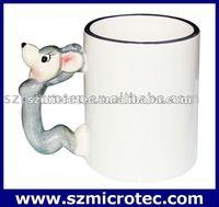 11oz Animal Coated Mug ---Rat,MT-B008