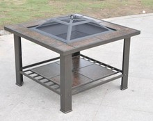 30inch Garden Table With Fire Pit Center