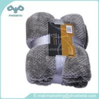 Coral Fleece Soft Comfortable Sleeping Plain Blanket