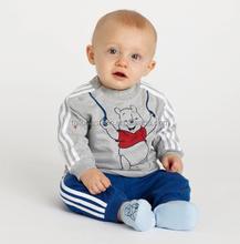 2015 New winnie bear boys clothing set cotton long sleeve children sets cute t-shirt tops+long pants