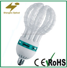 reasonable price 17mm lotus lamp with E27 B22 base and CE ROHS list
