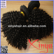 Wholesale Full Cuticle ding unprocessed curly intact virgin peruvian hair