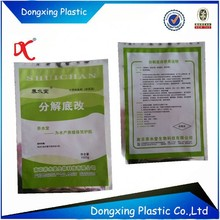 Customized small pe bag with aluminum foil packing for water quality improver