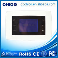 CCXK0003 Lcd dot matrix touch screen split air-conditioner thermostat