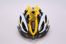 2015 novelty helmet PC shield in-mold cycling helmet (with 22 air vents ) with high ventilation and absorption