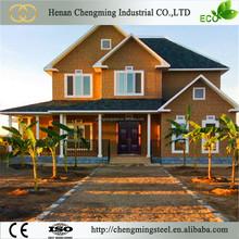 Green Construction Solid Economical Luxury 3 Bedroom 100 Sqm Prefab Villas