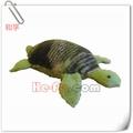 clásica para hacer punto de tortuga suave de la felpa anfibio de peluche de juguete de los animales