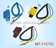 Patent No.Taiwan:160544 China:ZL 98225383.4 Alarm Multiple Functional Static Elimination ESD Wrist strap