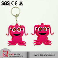 best selling custom soft pvc keychains