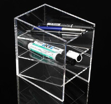 Transparent Pen Holder/Greatful Acrylic Pen Holder/Custom Acrylic Products
