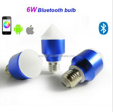 Music Alarm Group Bluetooth Wirelessly Connected LED Smart Bulb