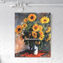 hot sell flower oil painting reproduction for wall decor
