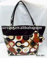 2011 striped handbag