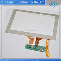 Customized high-transparency capacitive touch panel screen