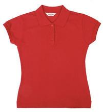 a granel de la camisa de polo de diseño para mujeres señoras corta camisas de polo