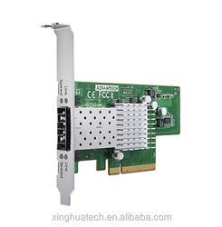 Advantech industrial mini pc motherboard PCIE-2201E Dual Port Fiber 10G Ethernet PCI Express Server Adapter with Intel 82599ES