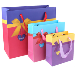 Promotional nice printed gift paper bags