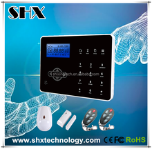 433/868Mhz Touch Keyboard Android/IOS App security wireless gsm alarm system