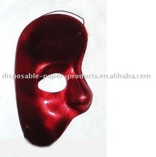 Red Half Face Mask