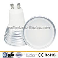 230V 5W 120degree Aluminum 3000K/6000K SMD CE RoHS LED Spotlight GU10