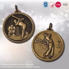 Цинковый сплав 3D спорт медаль завод