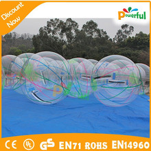 Guangzhou Factory inflatable aqua ball/roll inside inflatable ball/water walking ball