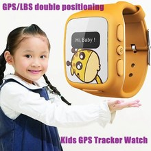 Real Time Tracking and Waterproof Kids/old people GSM GPS security watch
