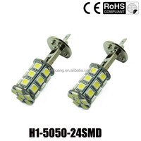 12v car led fog lighting 24 SMD 5050 9005 9006 H4 h7 h9 h11 H6 fog light