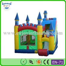 2015 Enjoy hot/high quality/commercial/China/kids/popular/mini/giant/funny/air/cheap/commercial bounce house combo