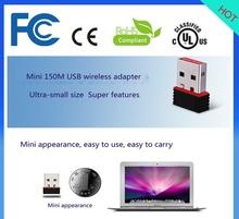 802.11b/g/n inalámbrica wifi usb interno lan adaptador de red ip de la tarjeta