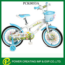 Top nature pattern colour flower princess kids bicycle for girls children bicycle for 10 years old child