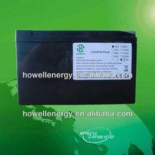 12v lithium battery/12v lifepo4 ups batteries/external battery bank ups