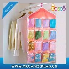 Encai Colorful Hanging Clothing Storage Bag With 16 Pockets