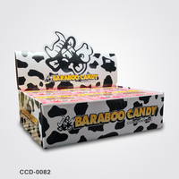 Cardboard Candy Display Rack and Boxes For Promotion