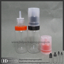 HD flat cap Screen Printing Surface Handling and Plastic,PET Material eliquid bottle