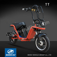 TT smart electric scooter 2 wheel motorcycle with pedals