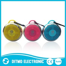 Portable wireless bluetooth speaker with LED light with selfie function