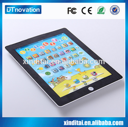 Kids cartoon educational touch screen first learning tablet toys