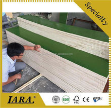 waterproof shuttering film faced plywood/ construction materials/ concrete shuttering plywood for building