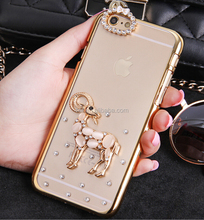 Hot selling 2015 for iPhone 6 plus diamond cover, bling bling