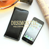 Retro Style Genuine leather mobile phone pouch for iphone 6