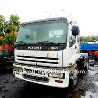 ISUZU USED TRUCK TRACTOR HEAD COMPLETELY YEAR:1997