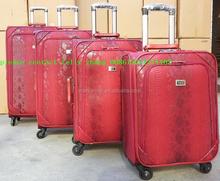 4 wheels trolley luggage/travel luggage / luggage case