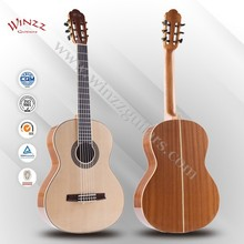 "[WINZZ] 39"" Spruce Plywood Nato Rosewood Student Wholesale Classic Guitar (AC70)"