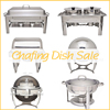 commercial stainless steel hydraulic electric chafing dish