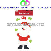 new gift Christmas window stickers gel clings