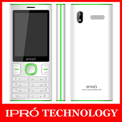 IPRO TV Mobile Phone Factory OEM Techno Phone Keyboard FM 2.8'' Screen GSM Dual Sim With Earphone Cell Phone Brand New