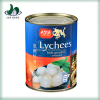 The high quality lychee canned ingredients in canned fruit cocktail