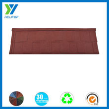 Colorful Stone Metal Tile Sheet/Decorative Metal Roofs